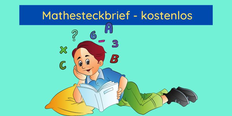 Mathe Steckbrief kostenlos