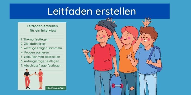 Leitfaden Interview