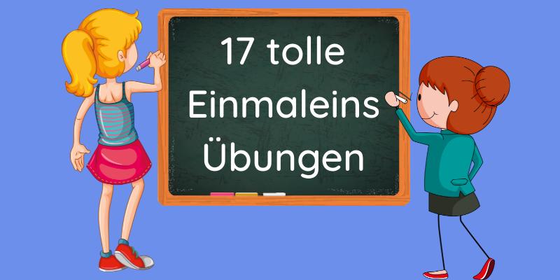 17 Übungen kleine Einmaleins